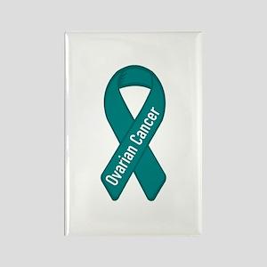 Ovarian Cancer Rectangle Magnet