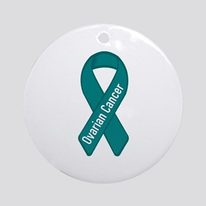 Ovarian Cancer Ornament (Round)