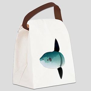 Mola Mola Ocean Sunfish Canvas Lunch Bag