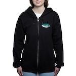 Mola Mola Ocean Sunfish Women's Zip Hoodie