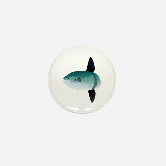 Mola Mola Ocean Sunfish Mini Button