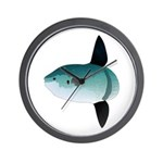 Mola Mola Ocean Sunfish Wall Clock