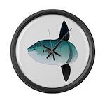 Mola Mola Ocean Sunfish Large Wall Clock