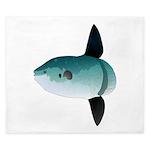 Mola Mola Ocean Sunfish King Duvet