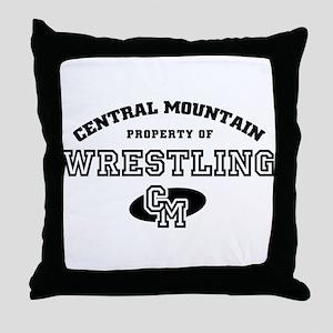 Central Mountain Wrestling 4 Throw Pillow