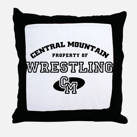 Central Mountain Wrestling 4 Throw Pillow