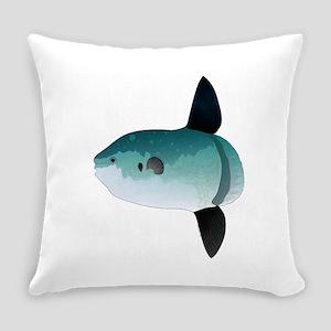 Mola Mola Ocean Sunfish Everyday Pillow