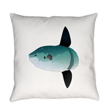 Mola Mola Ocean Sunfish Everyday Pillow
