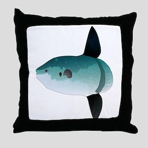Mola Mola Ocean Sunfish Throw Pillow