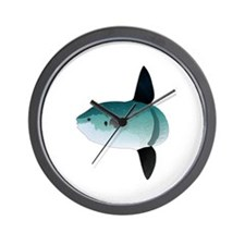Mola Mola Ocean Sunfish Wall Clock