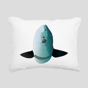 Mola Mola Ocean Sunfish Rectangular Canvas Pillow