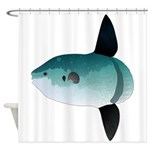 Mola Mola Ocean Sunfish Shower Curtain