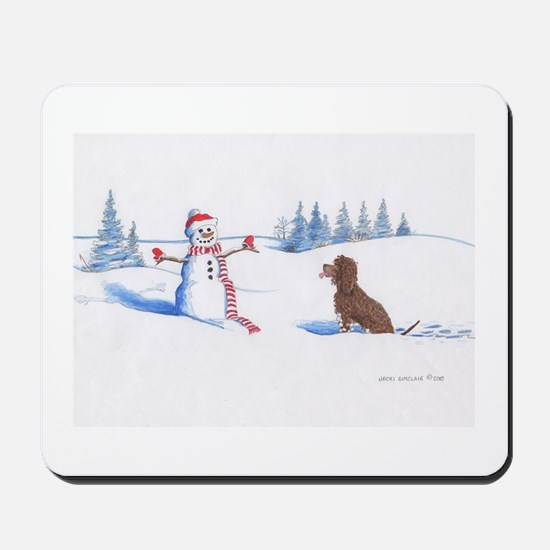 IWS and Snowman #4 Mousepad
