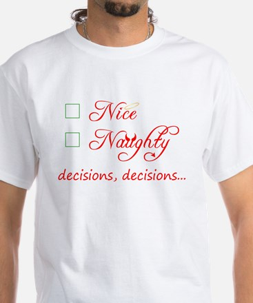 Nice or Naughty Women's Dark T-Shirt