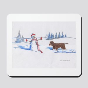 IWS and Snowman #5 Mousepad
