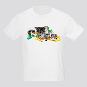 Aussie Family Nap Kids Light T-Shirt