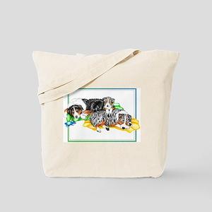 Aussie Family Nap Tote Bag