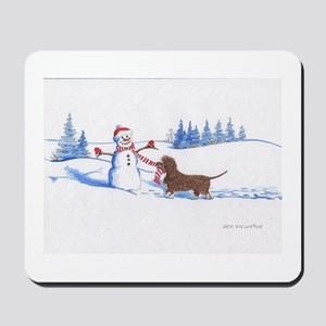 IWS and Snowman #6 Mousepad