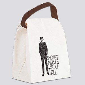 Smoking makes you tall Canvas Lunch Bag