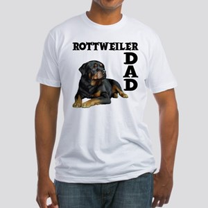 ROTTWEILER DAD Fitted T-Shirt