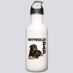 ROTTWEILER DAD Stainless Water Bottle 1.0L
