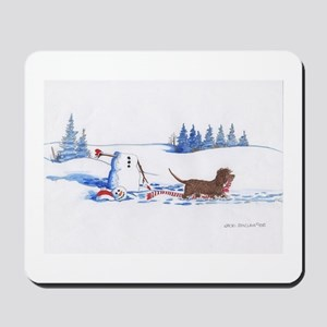 IWS and Snowman #7 Mousepad