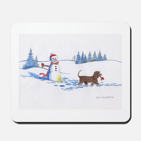 IWS and Snowman #9 Mousepad