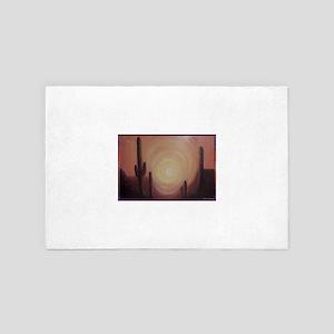 Desert! Southwest art! 4' x 6' Rug