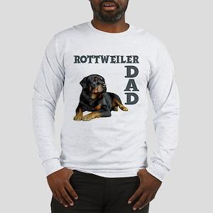 ROTTWEILER DAD Long Sleeve T-Shirt