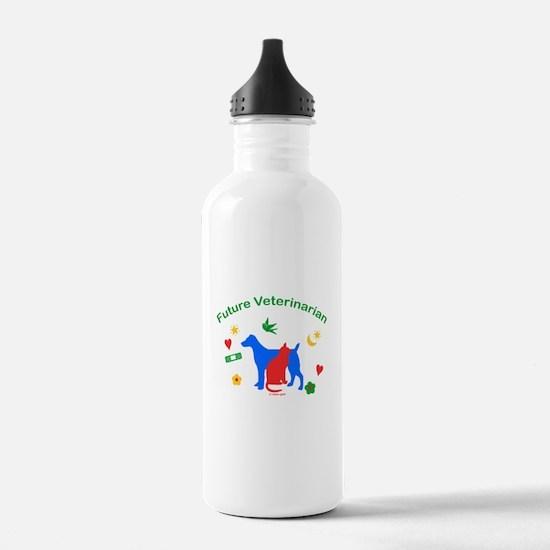 Future Veterinarian Water Bottle