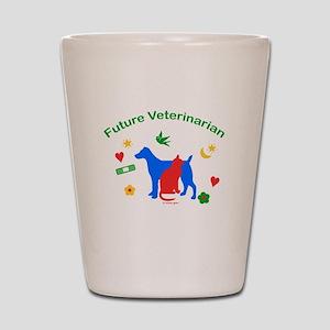 Future Veterinarian Shot Glass