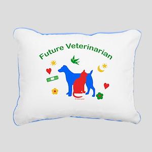 Future Veterinarian Rectangular Canvas Pillow