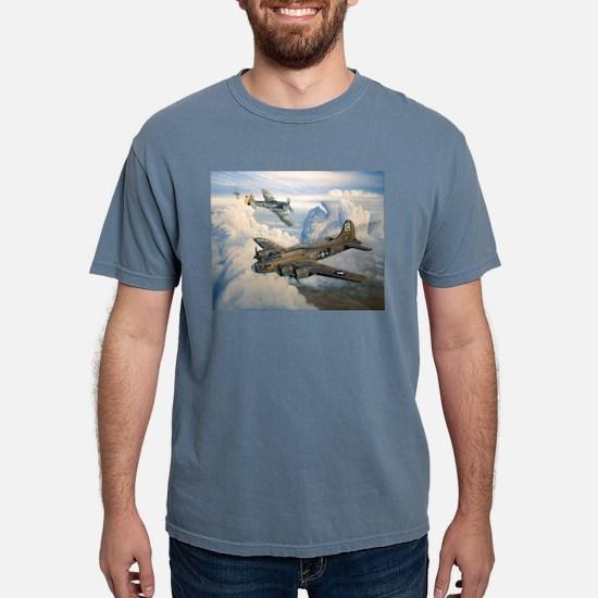 B-17 Shack Rabbit Ash Grey T-Shirt