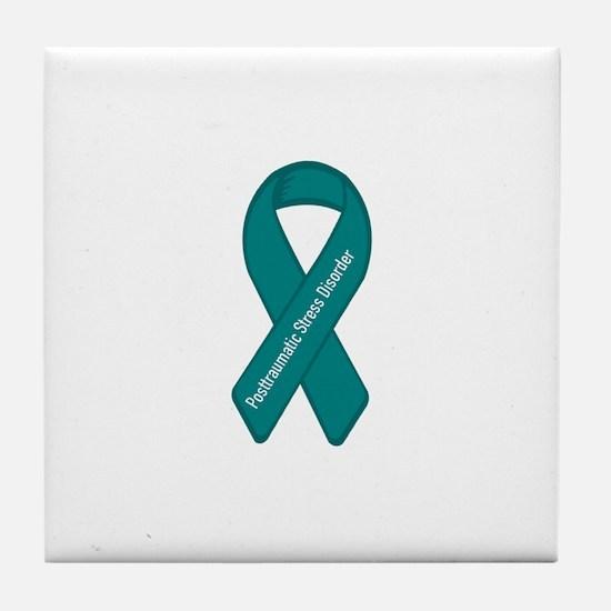 Posttraumatic Stress Tile Coaster