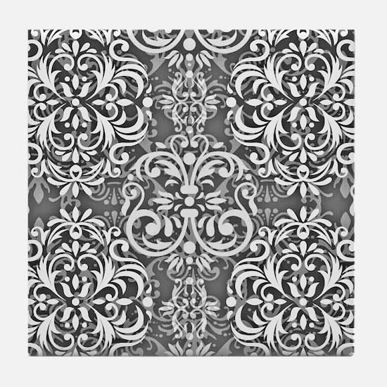 Damask Tile Coaster