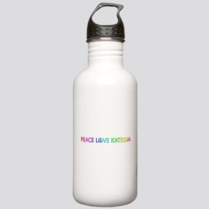 Peace Love Katrina Water Bottle