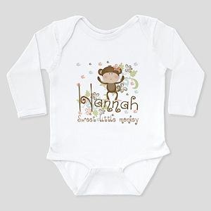 Adorable Hannah Monkey Infant Bodysuit Body Suit