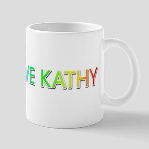 Peace Love Kathy Mugs