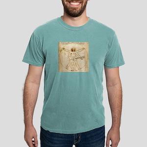 The Vitruvian Rock God Range Ash Grey T-Shirt