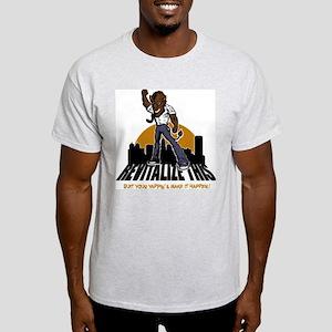 BUFFALO - revitalize this - q Ash Grey T-Shirt