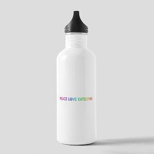 Peace Love Katelynn Water Bottle