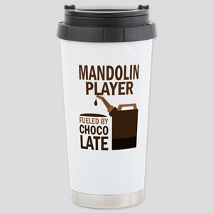 Mandolin Player Powered By Donuts Mugs