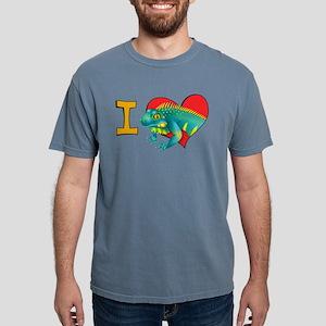 I heart iguanas Women's Dark T-Shirt