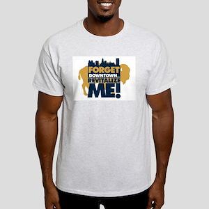 BUFFALO - forget downtown, re Ash Grey T-Shirt