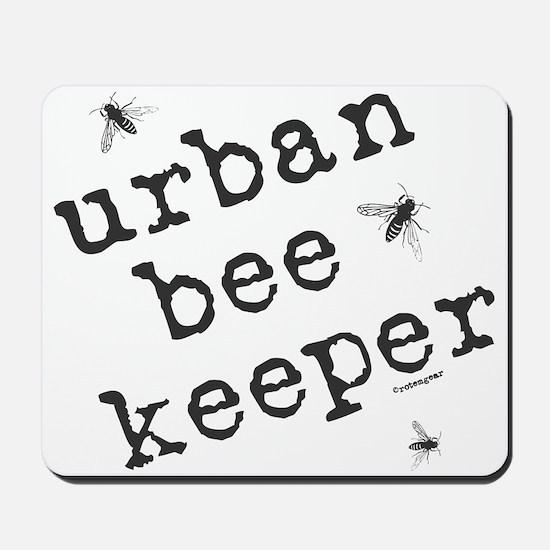 Urban Bee Keeper Mousepad