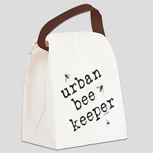Urban Bee Keeper Canvas Lunch Bag
