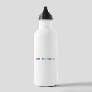 Peace Love Kaitlynn Water Bottle