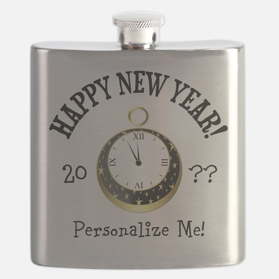 New Years Flask