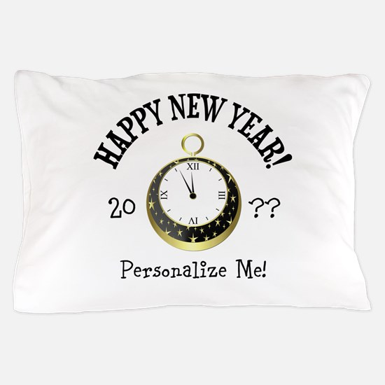 New Years Pillow Case