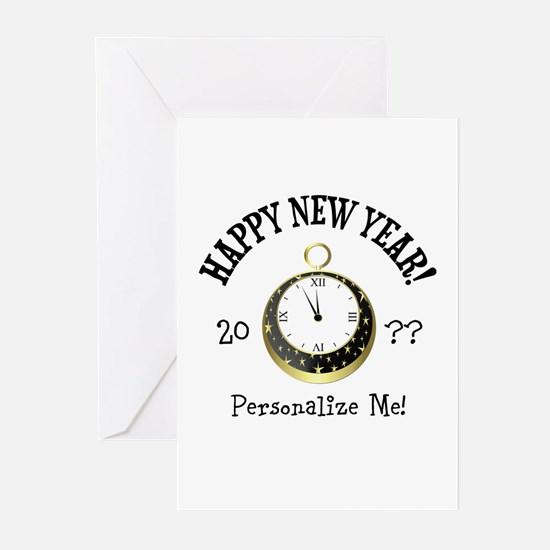 New Years Greeting Cards (Pk of 10)